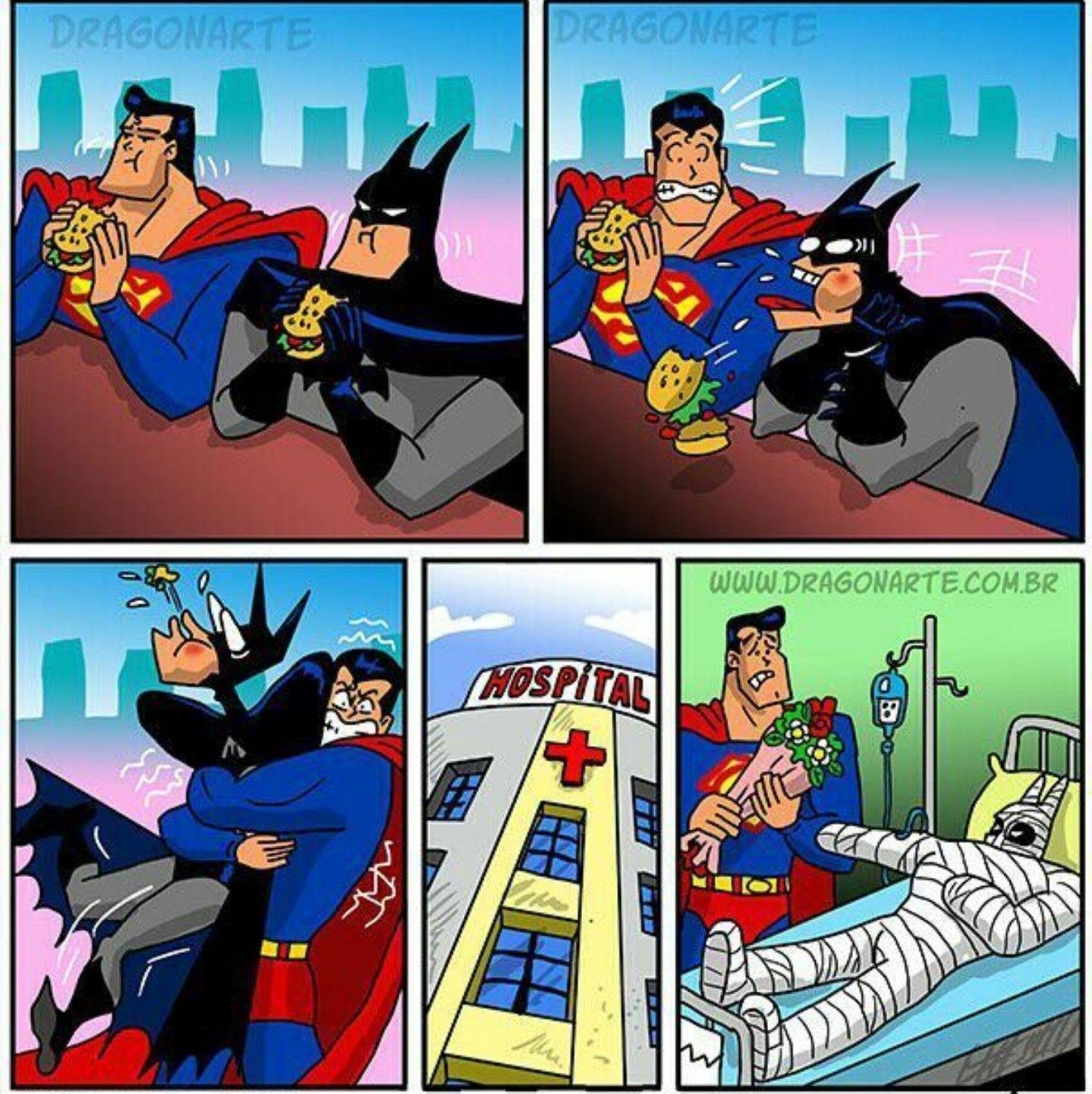 Batman Superman Funny Laugh Smile Batman Funny Funny Comics