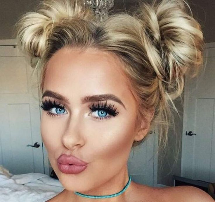 24 Messy bun hairdo to set major boho chic hair goals for the crowd - Hike n Dip