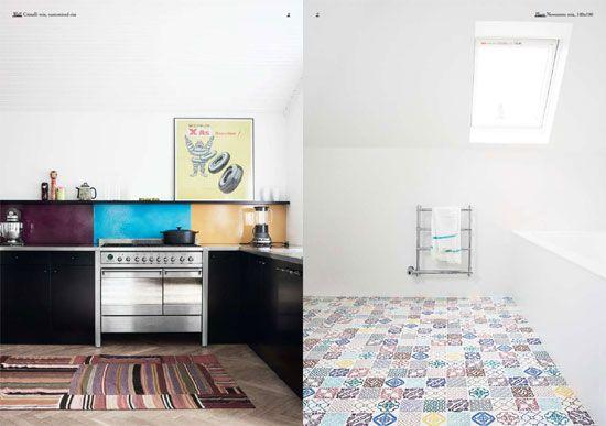 Made a Mano tiles; pictures from Heidi Lerkendeldt