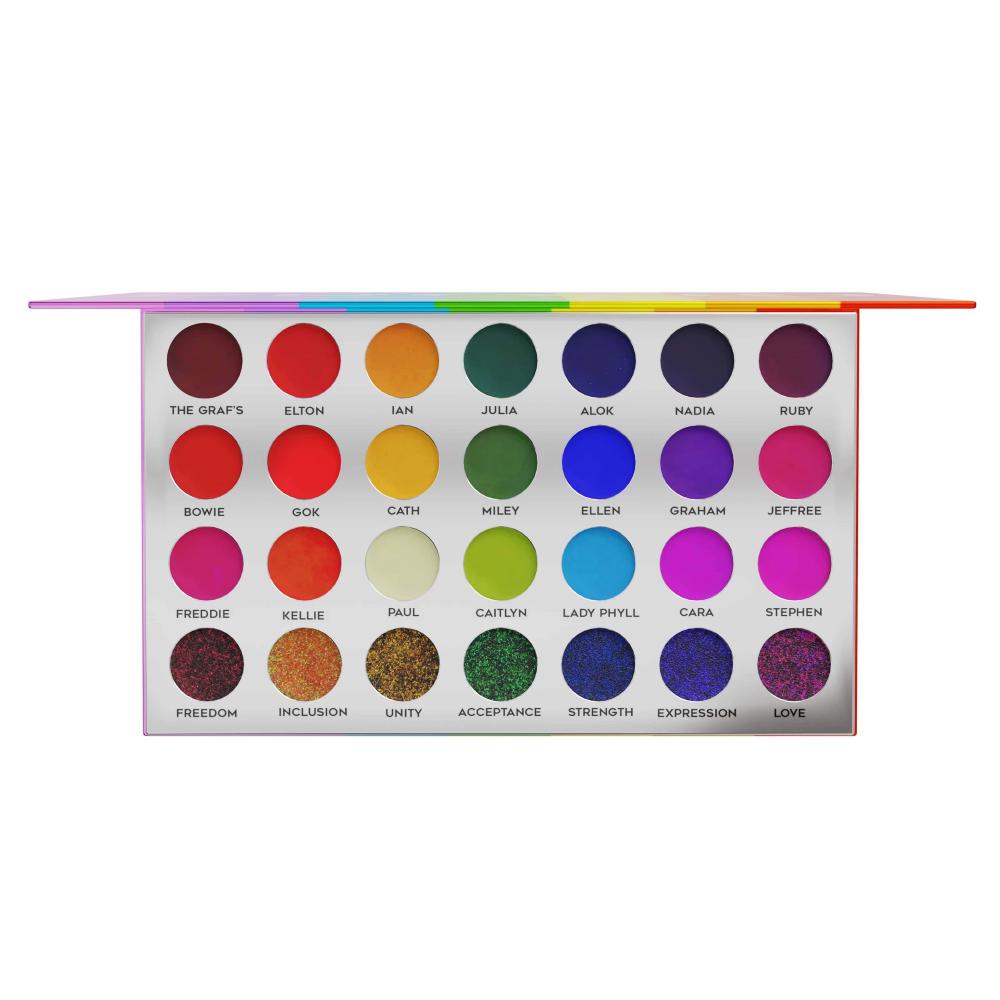 PROUD Eyeshadow & Glitter Palette™️ in 2020 Rainbow