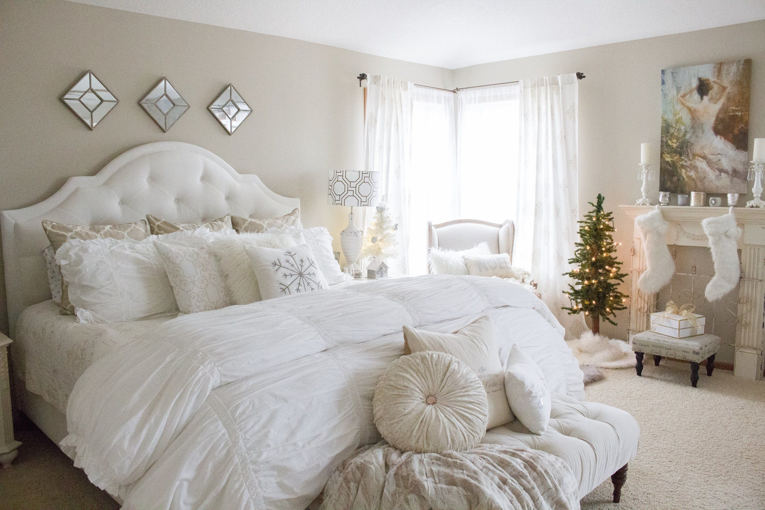 Adding Glam to Christmas Decor | Bedroom styles, Bedroom ...