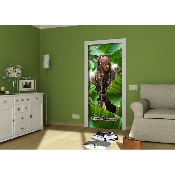 fresque murale jack sparrow pirates des cara bes de disney papier peint maxi poster d co. Black Bedroom Furniture Sets. Home Design Ideas