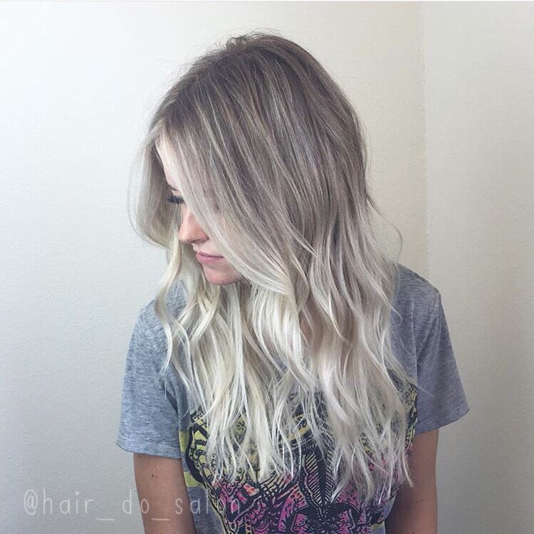 icy ombr sombre ombre hair color pinterest haar. Black Bedroom Furniture Sets. Home Design Ideas