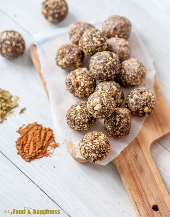 The Perfect Protein Energy Balls My Food Happiness Recipe Healthy Midnight Snacks Food Food Processor Recipes