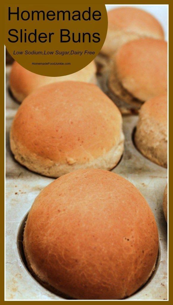 Homemade slider buns low sodium low sugar dairy free easy bread homemade slider buns low sodium low sugar dairy free easy bread dough recipe forumfinder Choice Image