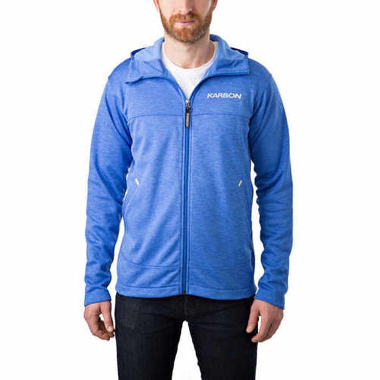 Full Zip Hoodie for Men Blue CY17XMMWR2L Mens