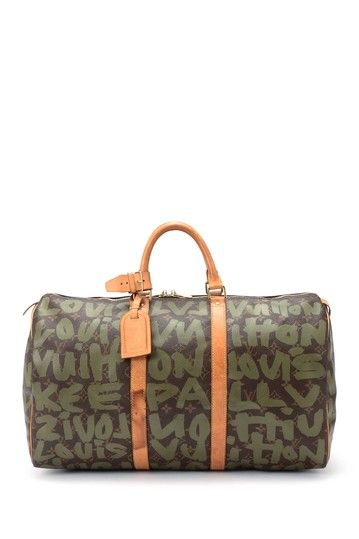 Vintage Louis Vuitton Leather Keepall 50 Handbag by LXR on @HauteLook