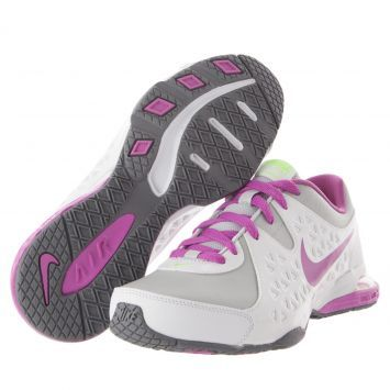 Me encanta! Miralo! Training Nike Wmns Air Dynami Blanco-Rosado  de Nike en Dafiti