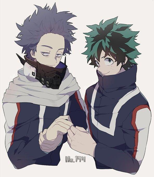 Deku Shinsou Hitoshi My Hero Academia Cred To Author My Hero My Hero Academia Manga My Hero Academia Memes