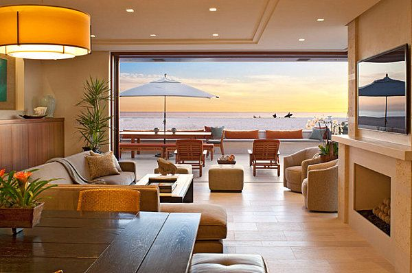 20 Unforgettable Rooms With A View Indoor Outdoor Living Room Front Room Design Dream Living Rooms