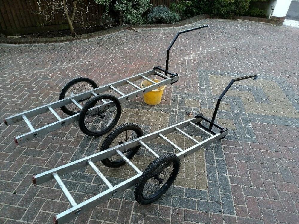 Long Bike Trailers Custom Built Bicycle Cargo Trailers 2 For