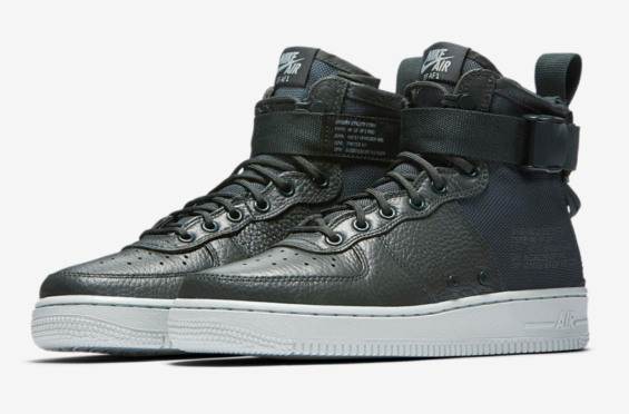 Release Date: Nike WMNS Special Field Air Force 1 Mid Outdoor Green (Urban  Utility