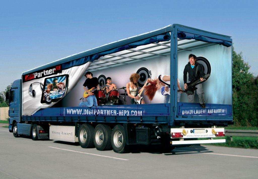 Semi Truck Photoshopped Freightcenter Photoshop
