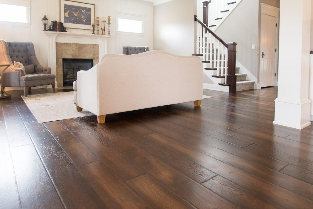 Living Room Hardwood Flooring