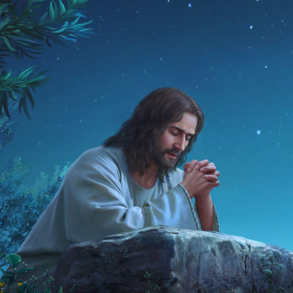 Jesus Betet Im Garten Gethsemane Matthaus 26 Jesus Bilder Jesus Kunst Christliche Bilder