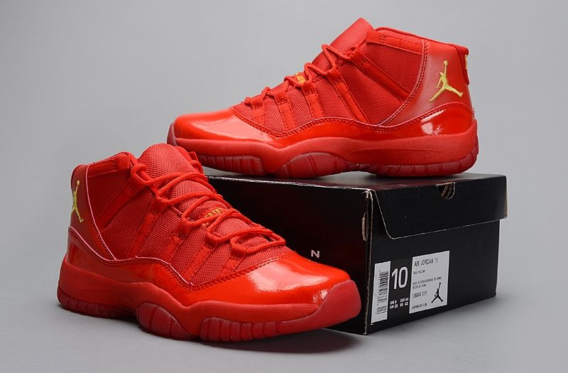 huge discount a946d 96ca1 Air Jordan 11 ALL Red Customs By Elcappy | Stuff to Buy ...