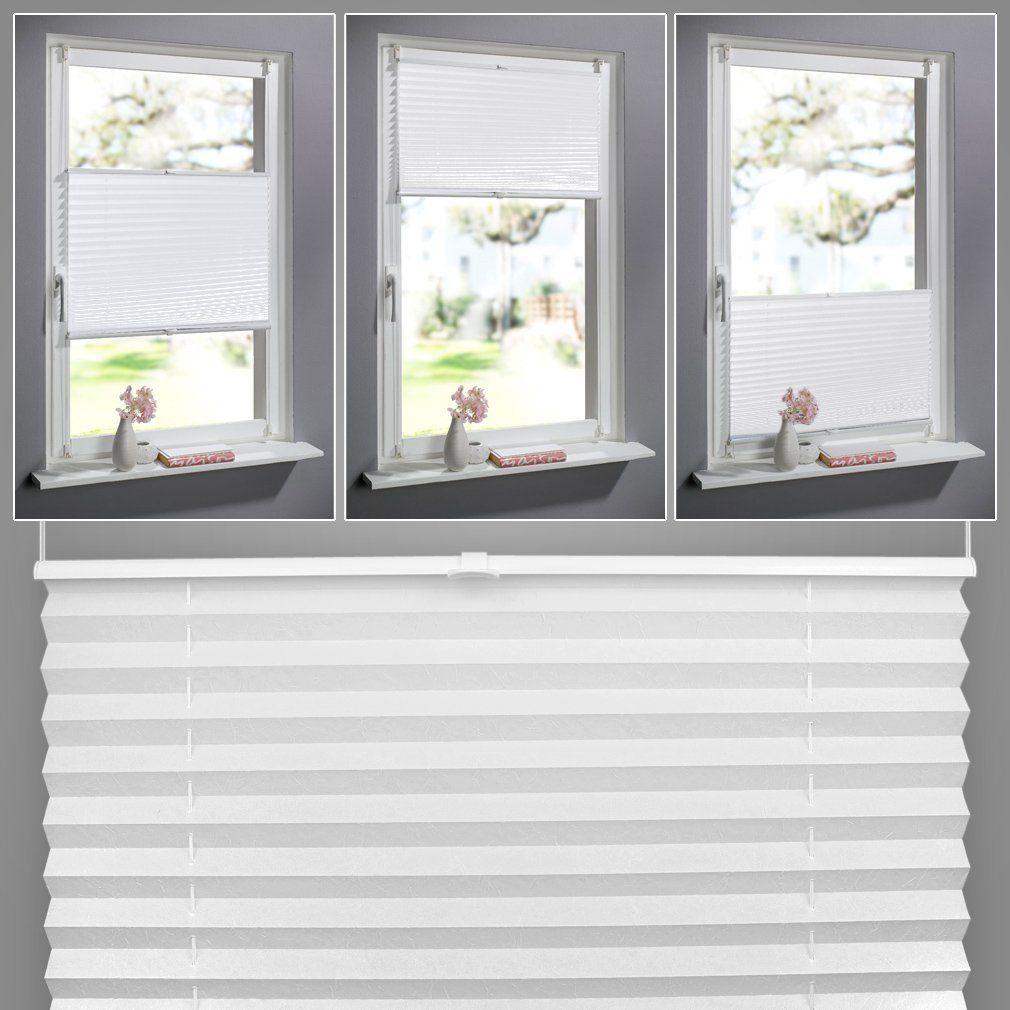 SHINY HOME 60 x 130 CM Stores Plissés Enrouleur Thermique Sans