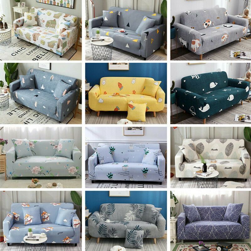 Washable Stretch Elastic Fabric Sofa Cover Sectional Couch Covers Pet Slipcover Sofa Slipcover Ideas O Sectional Couch Cover Fabric Sofa Cover Couch Covers