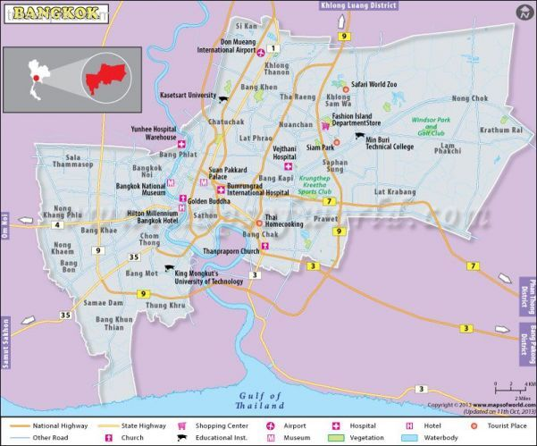 awesome Bangkok Map Travelquaz Pinterest Bangkok Suvarnabhumi