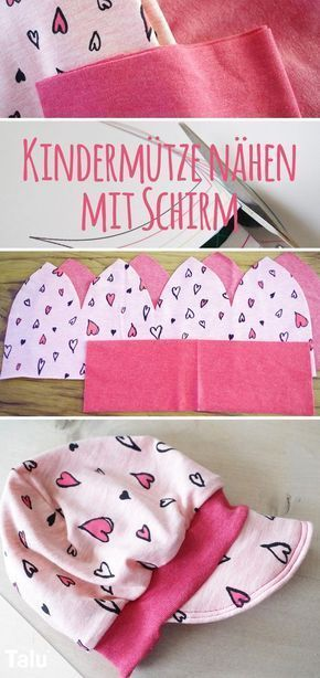 Photo of Sewing children's hat for winter – Instructions with / without cuffs – Talu.de