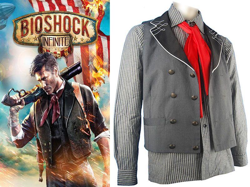 Bioshock Infinite Booker DeWitt Cosplay Costume Custom Made