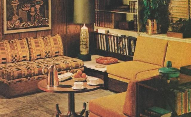 Ordinaire 1970 Home Decor | ... Mod, 1970s Home Decorating Used Colors And Textures