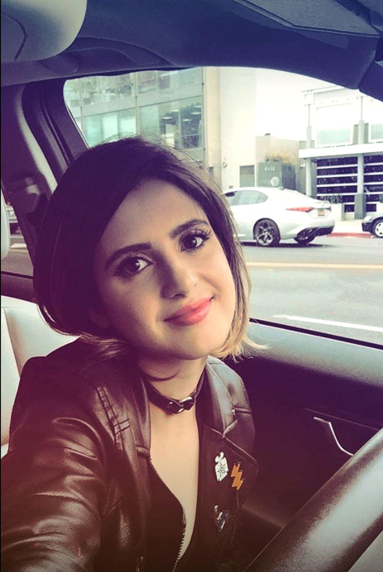 Photo of Laura Marano  - car