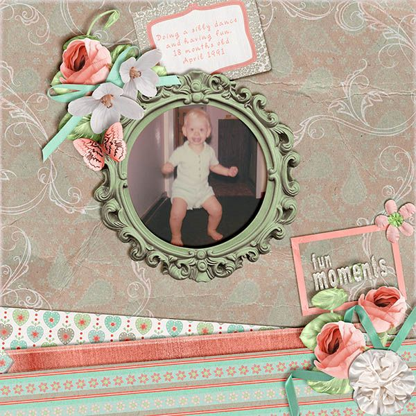 Set The Mood For Everything: Layout By Ann, Up Up And Away Collection By PattyB Scraps