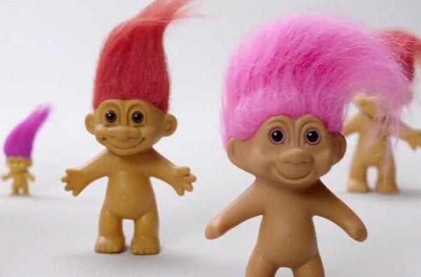 90s Troll Dolls 90s troll doll.