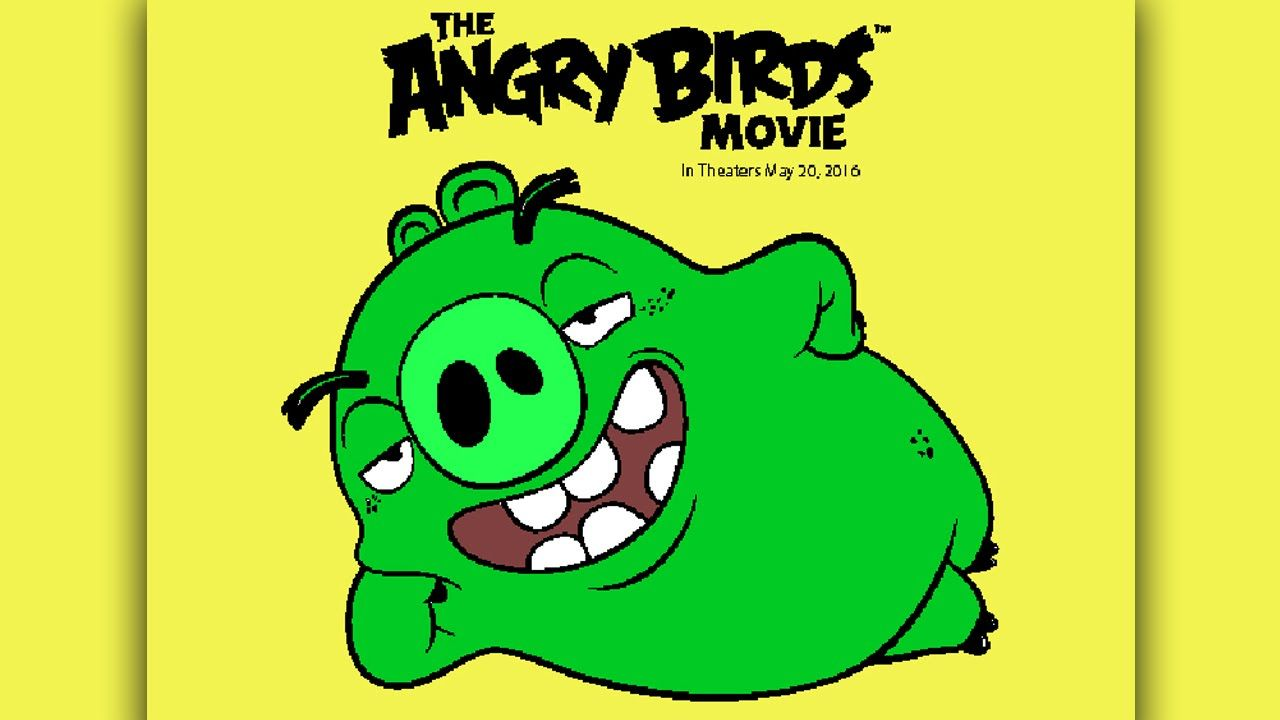 The Angry Birds Movie Coloring Pages for Kids Coloring Games - Angry ...