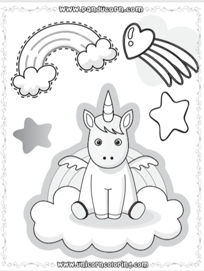 Rainbow Coloring Pages Free Of Charge Unicorn Coloring Pages Coloring Pages Magical Creature