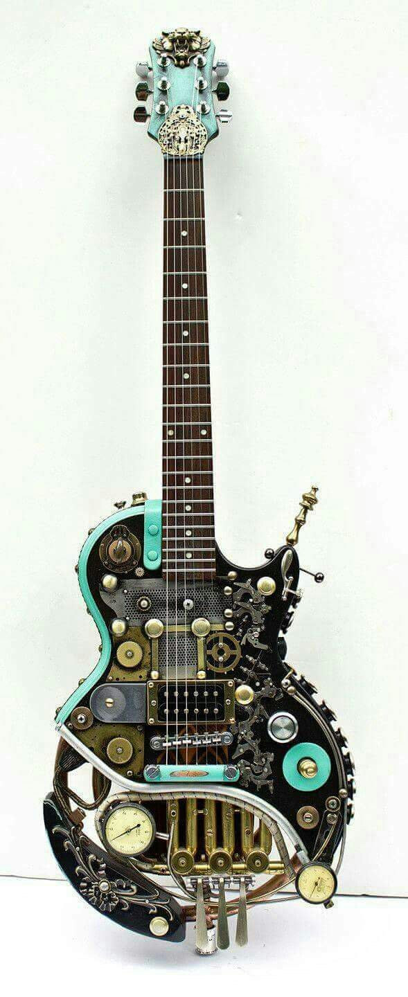 Coolkeychainsstyle Guitars Guitar Steampunk Cool On Pinterest Fender Telecaster And Epiphone