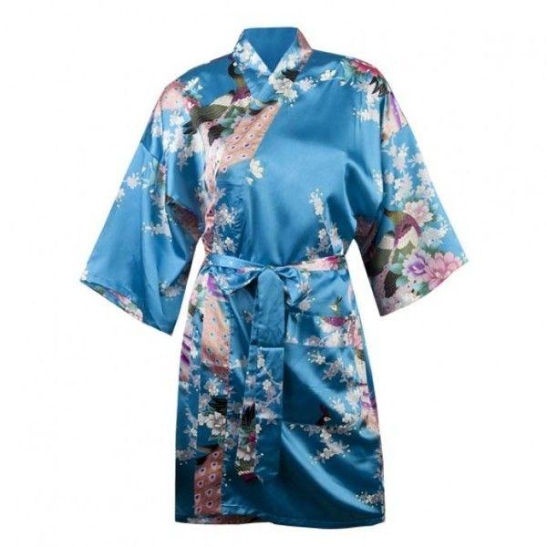 c90082b2d8 Californication Hank Moody Peacock Kimono Robe ( 35) ❤ liked on Polyvore  featuring intimates