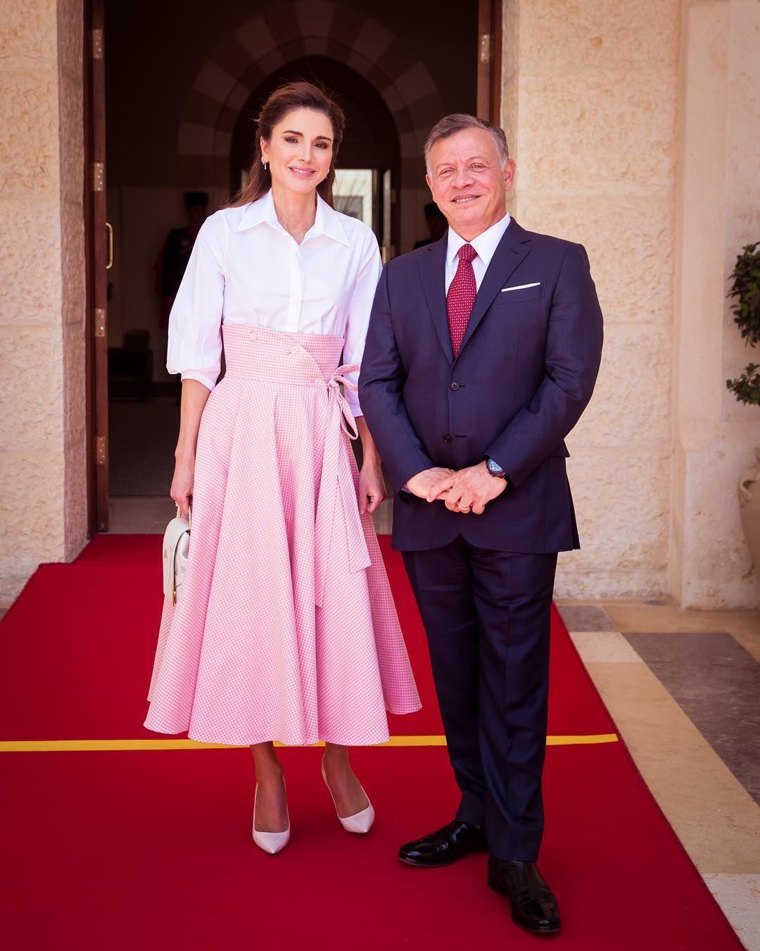Queen Rania Of Jordan Channels A Modern Day Princess Grace Royal