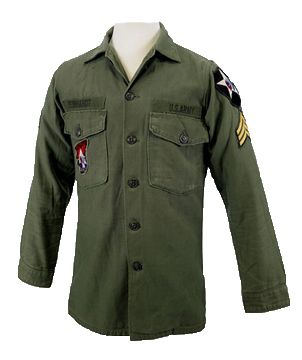 Authentic John Lennon Army Shirt Available. We Only Use U.S. Military Shirts  To Ensure Authenticity  ) 78805bd75