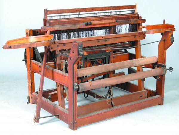 Newcomb Loom Company Davenport Iowa | 815: Carpet Loom signed \