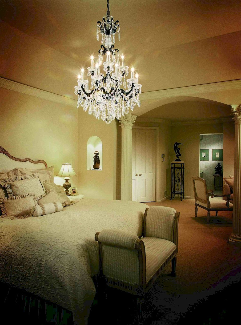 Bedroom decoration ideas for romantic moment girls