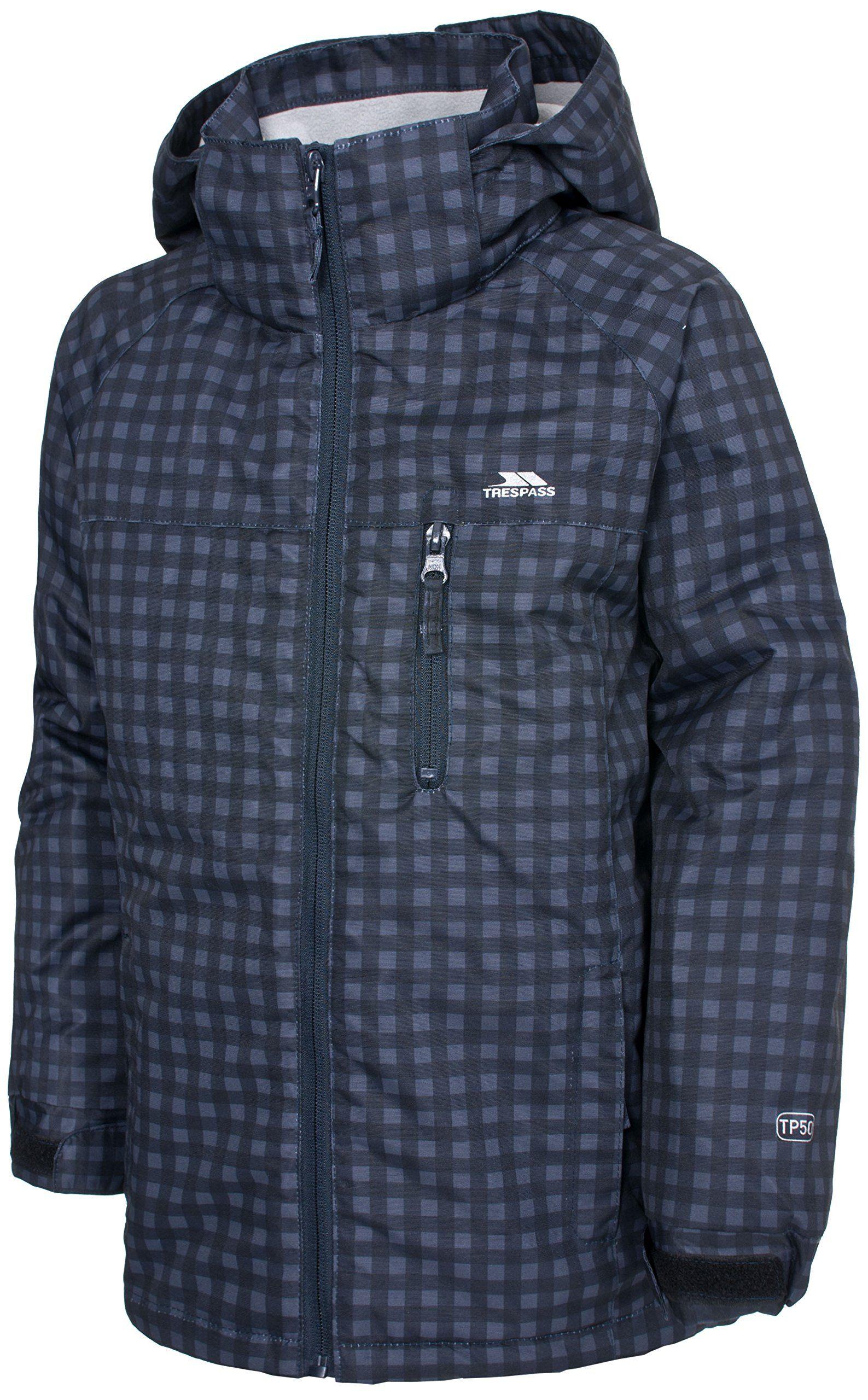 91c2a15ca6fc Trespass boys Trespass Boys Jace Waterproof Padded Rain Coat Jacket ...