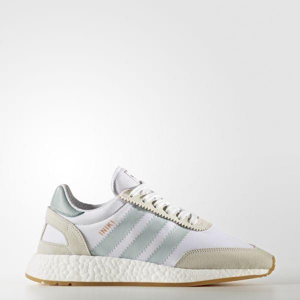 adidas Originals Iniki Runner - Women's Casual - White/Tactile Green/Gum BY9092