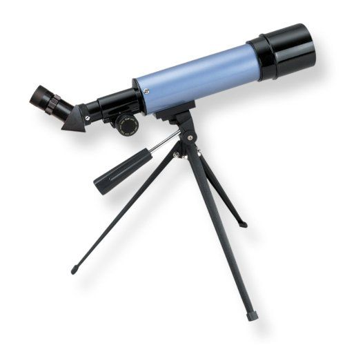 CARSON AIM REFRACTOR-TYPE 20-80X POWER TELESCOPE WITH TABLETOP TRIPOD (MTEL-50).