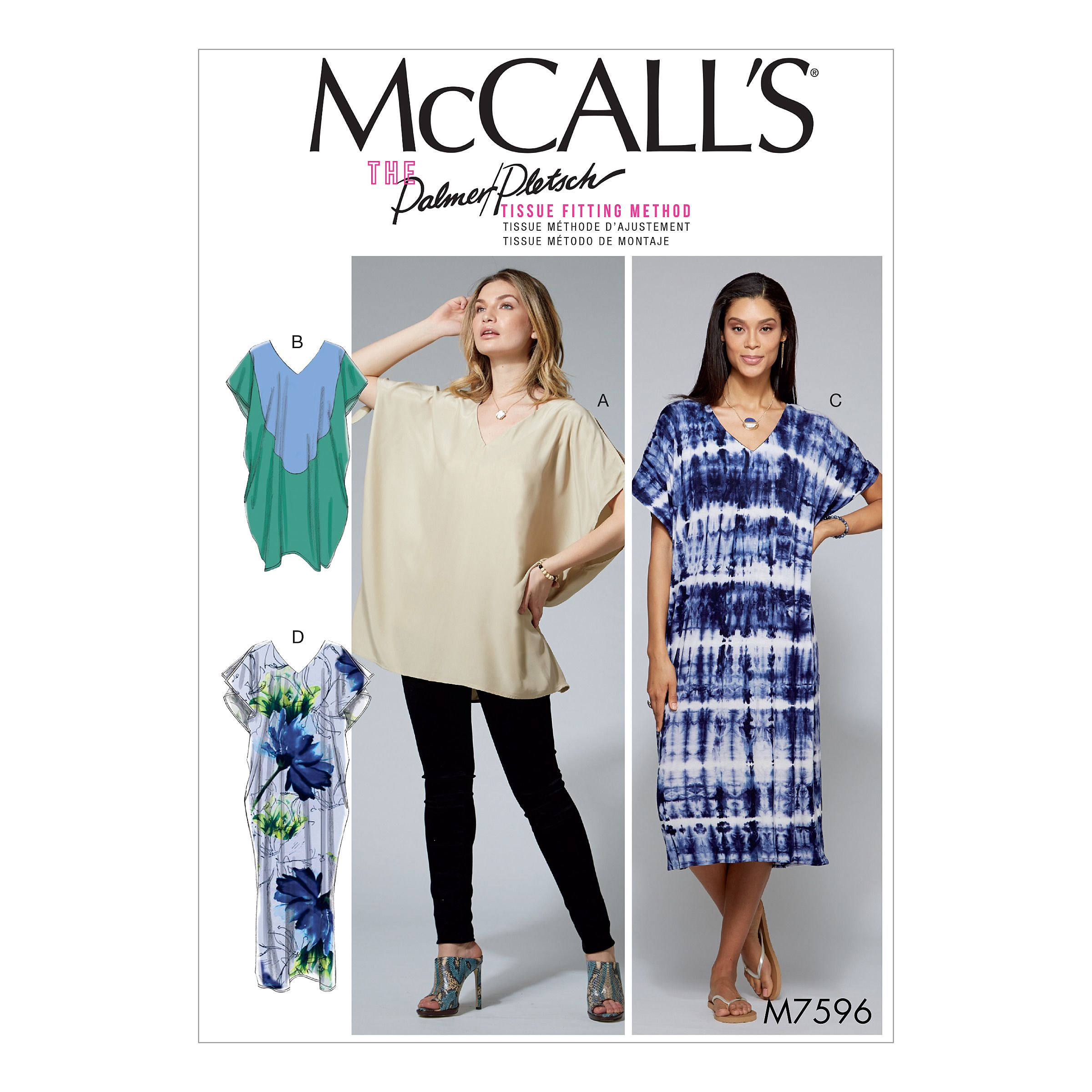 Free 2 Day Shipping Buy Mccall S Sewing Pattern Misses Loose Fitting V Neck Pullover Tunic An In 2021 Tunic Dress Patterns Tunic Tops Pattern Mccalls Sewing Patterns [ 2400 x 2400 Pixel ]