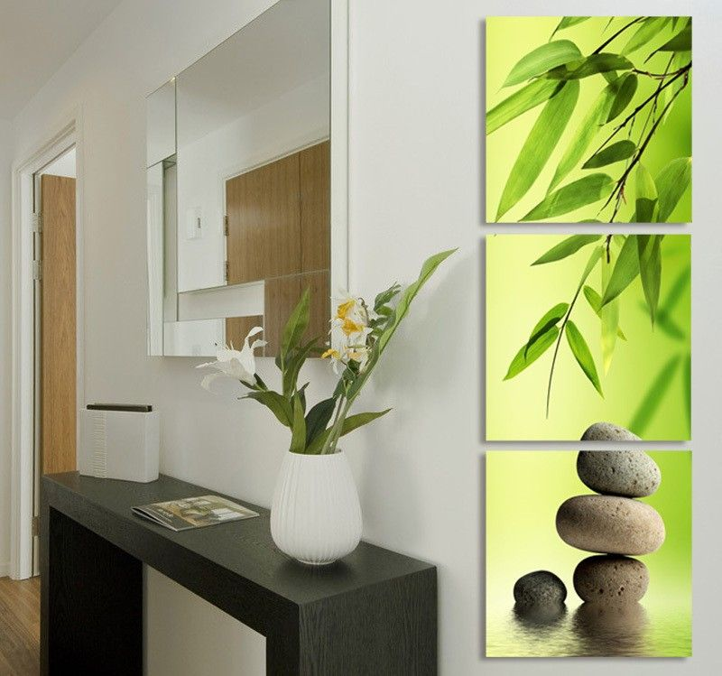 $0 - Cool 3 Pcs Artist Canvas Still Life painting Bamboo and Stone vertical forms Canvas Prints Wall Pictures Living Room Picture T/1058 - Buy it Now! #canvasprint #canvaspainting #canvasart #wallart #walldecor #walldecoration #homeart #homedecor #homedecoration #modern #home #interior #ideas #style #decor #decorideas