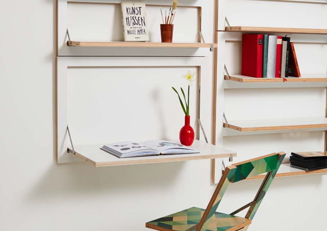 In a small apartment, you might not have the luxury of having an entirely separate room to use as a study — but that doesn't mean you can't carve out a little space for working and creating at home. Here are seven ideas.