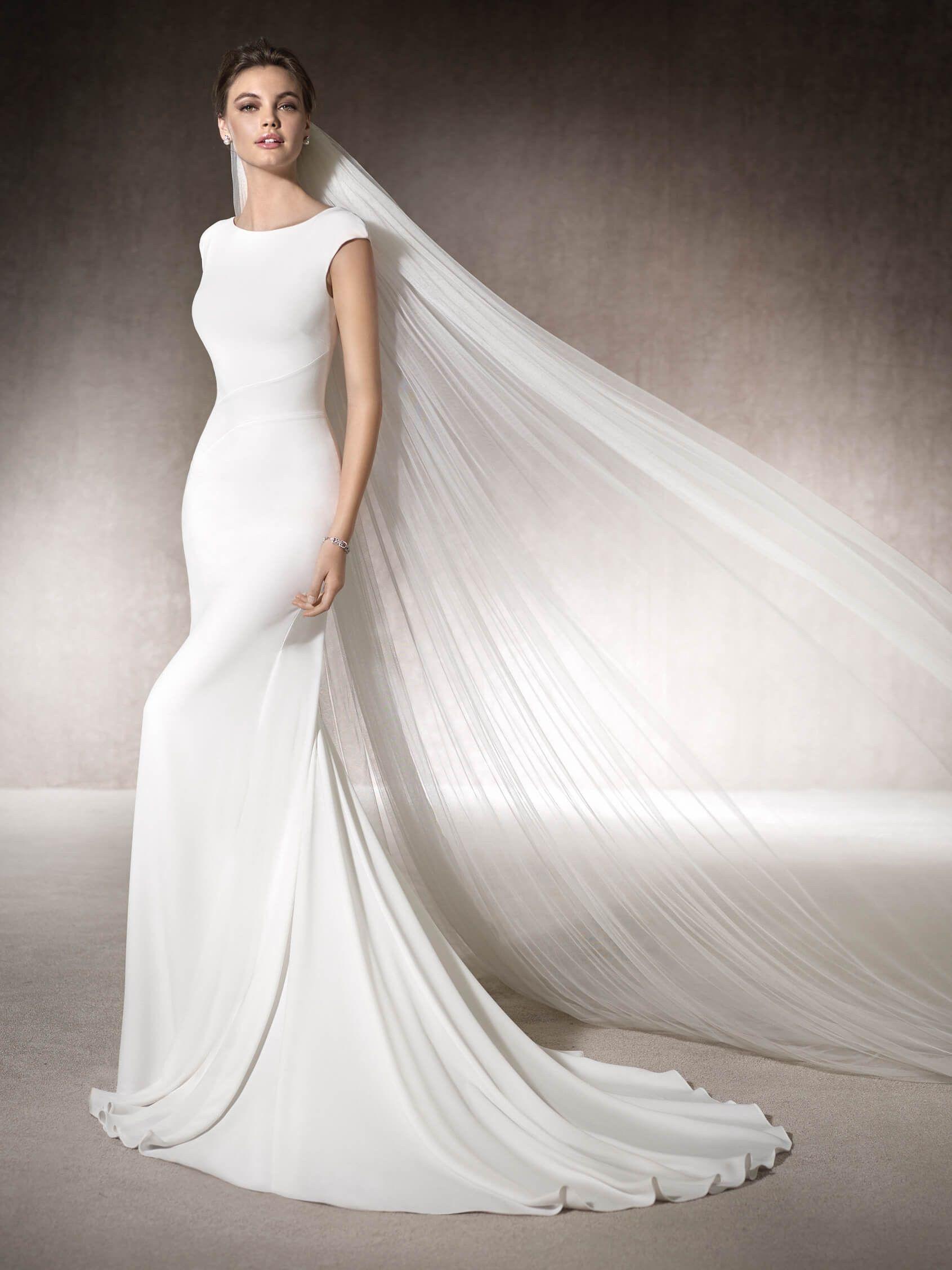 Vestido de novia sirena Muriel   BRIDE   Pinterest   Vestido de ...