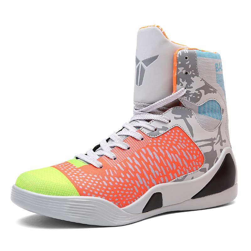 New 2017 High Top Sneakers Men Cool Basketball Shoes Boys