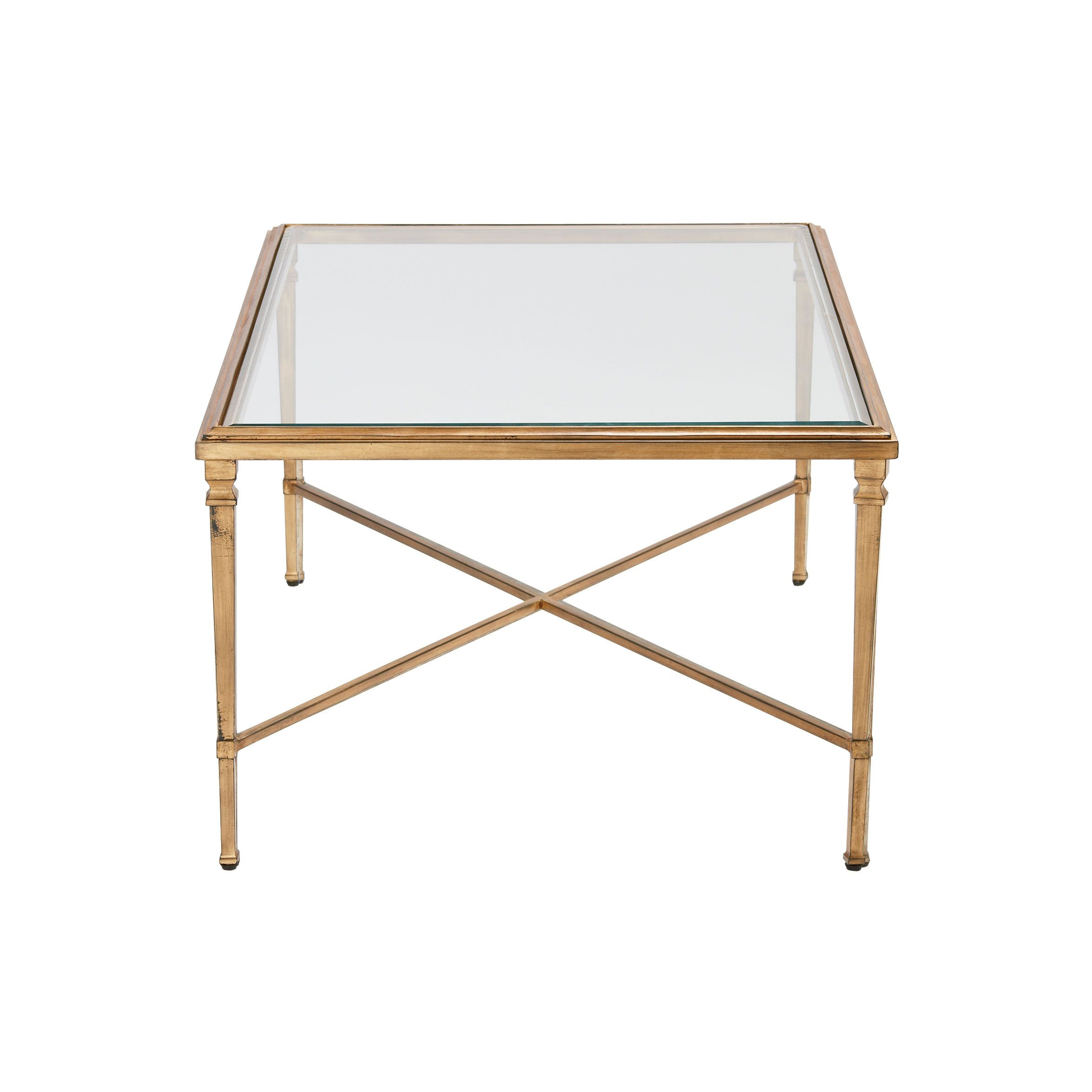 Alicia Cocktail Table Living Spaces Gold And Glass Coffee Table Hollywoodglam Hollywoodregency Coffee Table Living Table Table [ 1288 x 1911 Pixel ]