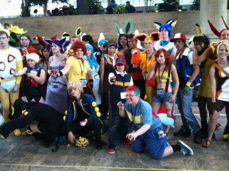 Pokemon Cosplay group 3 : pokemon group costumes  - Germanpascual.Com