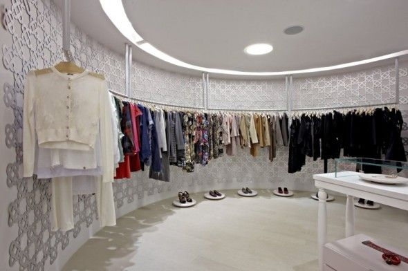 Clothing Store Interiors Interior And Exterior Design Of