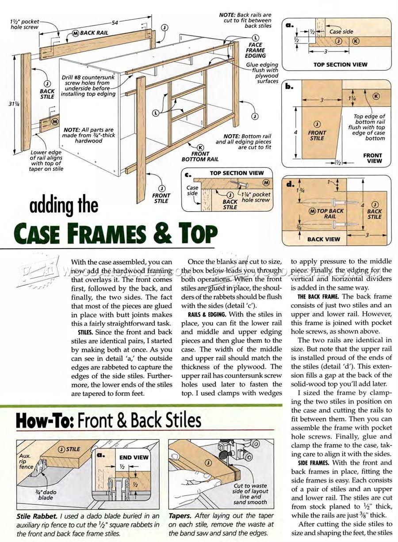 Genial TV Lift Cabinet Plans   Furniture Plans