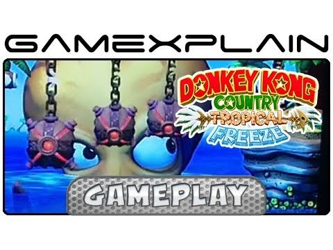 Donkey Kong Country: Tropical Freeze - 4-4 Irate Eight w/ Commentary (Wi...